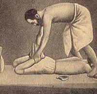 масажът в древността