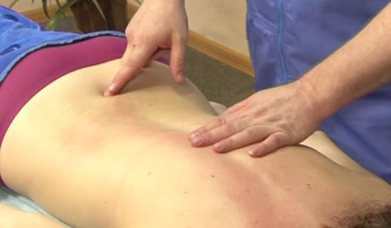 влияние на масажа