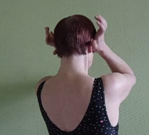 масаж с основата на дланта