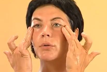 масаж около очите