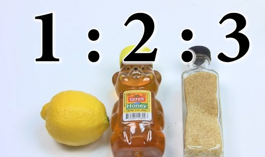 скраб с мед