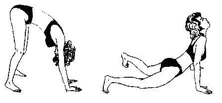 1. Упражнение за горната част на гръбначния стълб