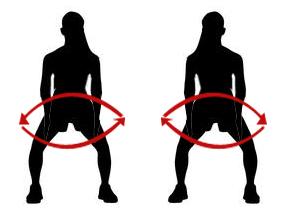 упражнение за седалищните мускули