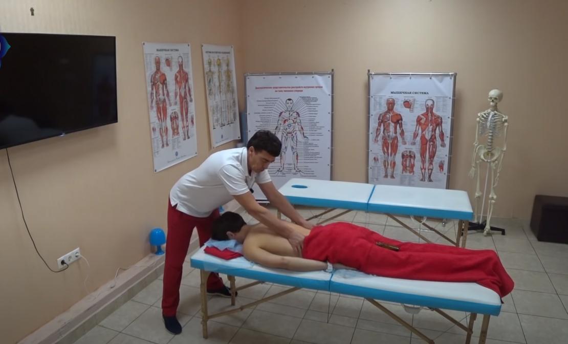 как се прави масаж
