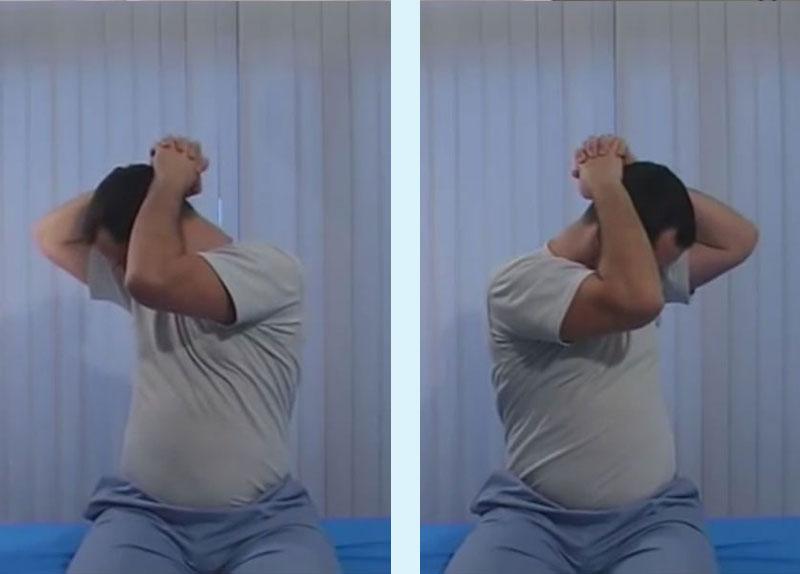 упражнение за раздвижване на врата