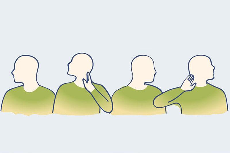 упражнения за релакс на мускулите на врата