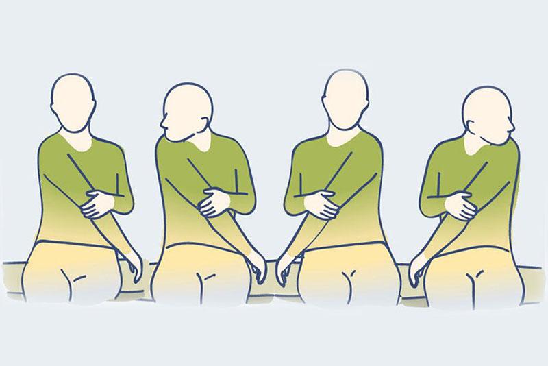 лечение на врат с упражнения