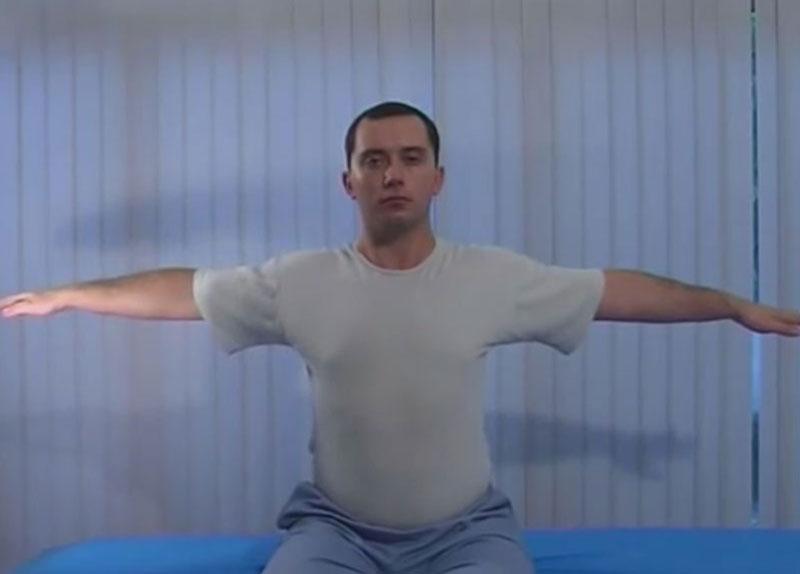 упражнения за врата на Шушонин