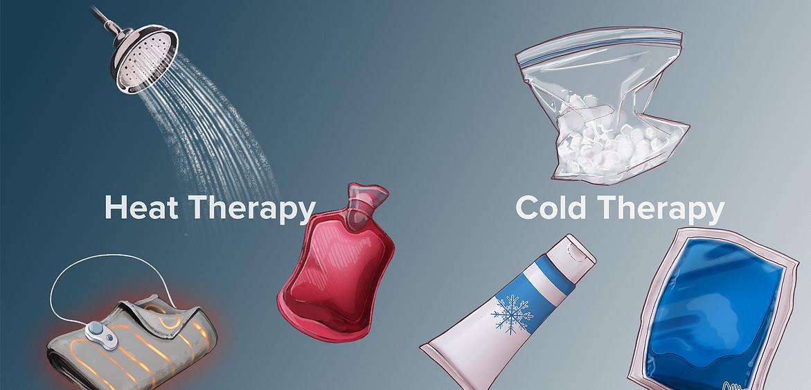 лечение на болка с топла или студена терапия